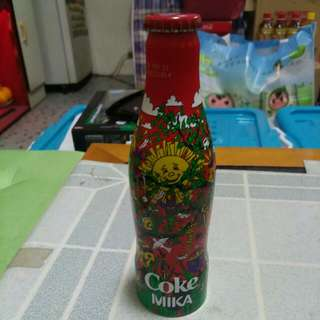 Coca Cola 可口可樂 - France 法國 Mika 鋁樽一枝