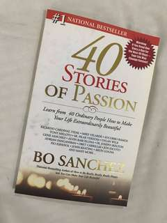 40 Stories of Passion by Bo Sanchez