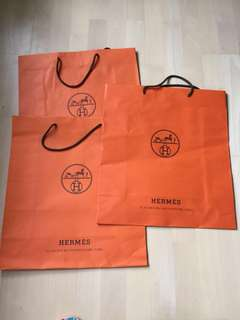 Hermes Paper Bag all (47x42)