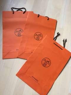 Hermes 紙袋 paper bag all (43x28)