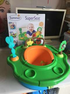 Almost new Summer 3-Stage Infant super seat