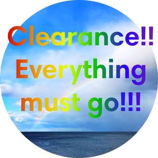 MOVING OUT CLEARANCE!! EVERYTHING MUST Go!
