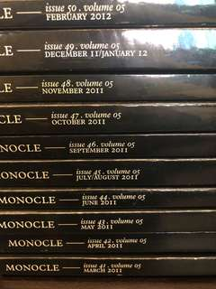 Monocle Volume 5: Issues 41-50