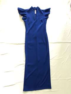 Ishta Royal Blue Long Gown