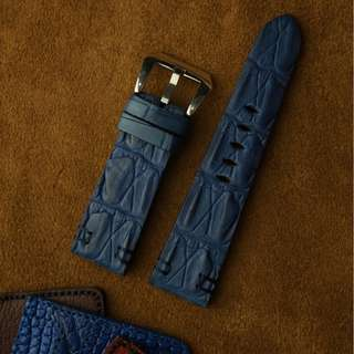 🚚 Panerai watch band / strap Crocodile leather, Panerai watch band / strap 24mm, Panerai watch band / strap 22mm, Panerai watch band / strap custom
