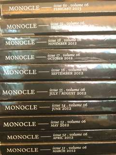 Monocle Volume 6: Issues 51-60