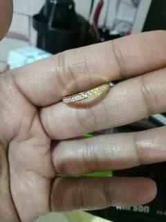 OnHand Gold Eternity Ring(FREE SHIPPING)