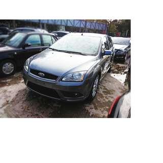 2007年 福特  FOCUS  灰  ✅0頭款 ✅免保人✅低利率✅低月付 FB搜尋:阿源 嚴選二手車/中古車買賣
