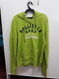 HOLLISTER hoodie bought in U.S Made in Phil Large