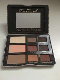 Too Face Natural Matte Palette