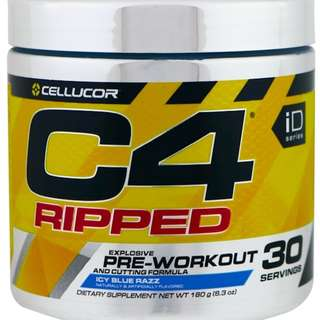 Cellucor, C4 Ripped Explosive, Pre-Workout