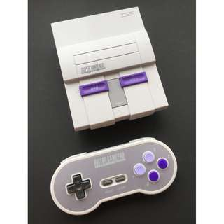 Modded SNES Classic with Extra Games and Modded Wireless Controller
