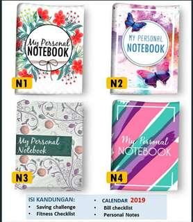 Notebook mini A6