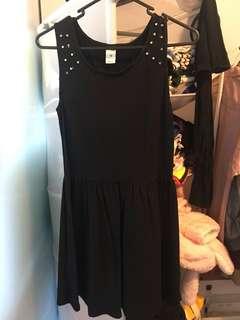 Black pin dresses