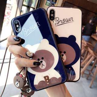 (PO) Brown iPhone Cover