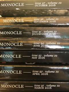 Monocle Volume 10: Issues 91-97