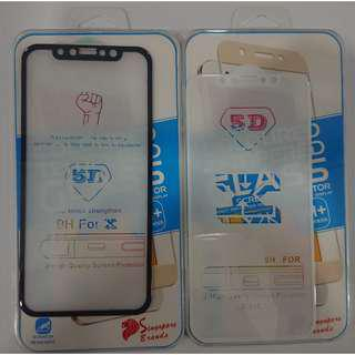 Y2K Full Coverage 5D Tempered Glass For Samsung / Xiaomi