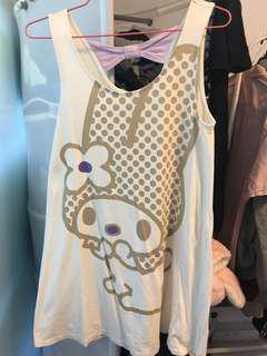 UNIQLO melody cute ribbon casual dresses