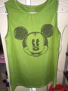 Mickey Mouse Muscle Tee/Tank Top