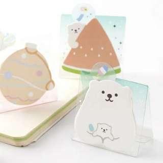 北極熊 便條紙 Memo