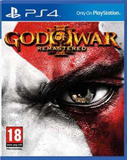 PS4 God of War 3: Remastered