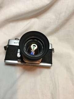 MINOLTA SRT 101 & 55mm lens