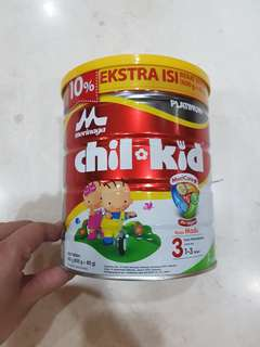 Chil Kid Platinum 3 (1-3th) Madu 800g