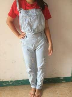 Overall baju kodok
