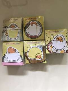 🚚 Wholesale 100pc Gudetama post it