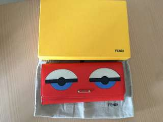 Fendi Monster Continental Wallet Res