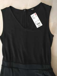 (Brand New with Tag) UNIQLO Cotton Jumpsuit!