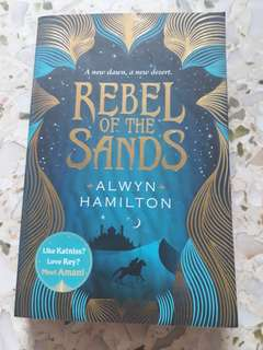 Rebel of the Sands, by Alwyn Hamilton
