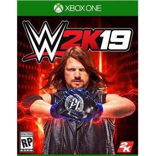 Xbox One WWE 2K19 Preorder