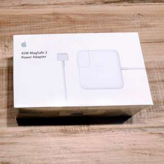 BNIB Apple 45W MagSafe 2 Power Adapter for MacBook Air