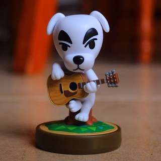K. K. Slider Animal Crossing Amiibo Figure