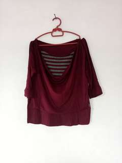 FLASH SALE 🔥➡ Blouse Maroon