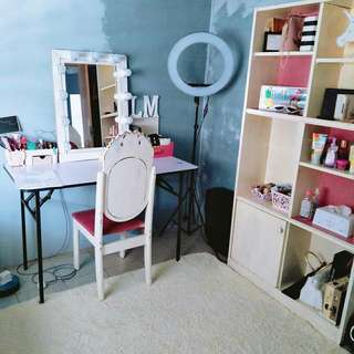 Makeup Space for Rent