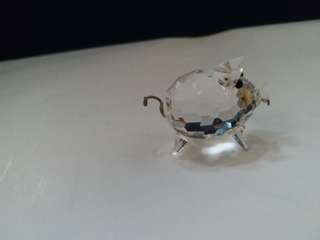 Swarovski Crystal Mini Pig wire tail