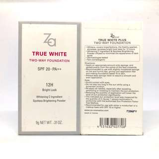 🚚 Brand New ZA True White Two-Way Foundation