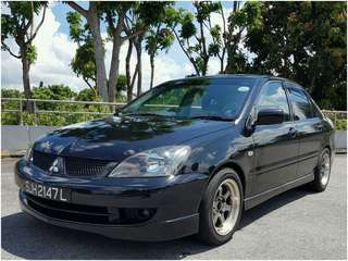 Mitsubishi Lancer Manual 1.6