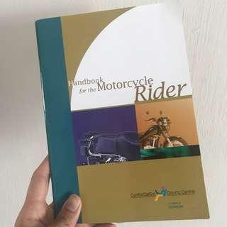 RTT handbook for motorcycle rider