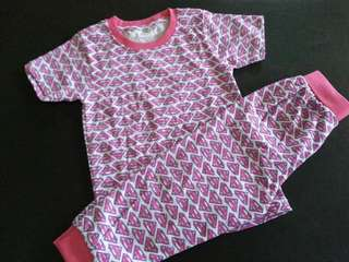 💥NEW ARRIVAL 💥SET PYJAMAS PINK SIZE 3Y