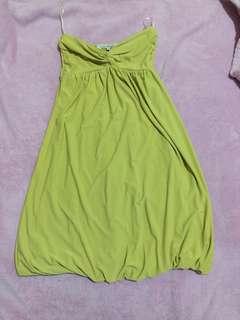 Tube Dress col Greenish