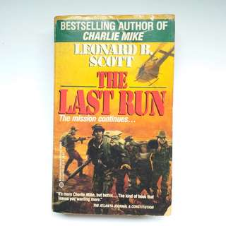 Book - The Last Run (1990)