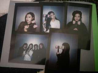 Blackpink official lightstick photocard set