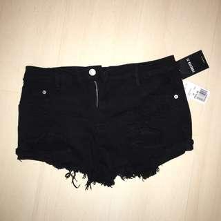 Black F21 Shorts