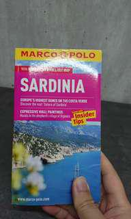 BN MARCO POLO Sardinia Italy pocket guide and maps