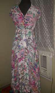 FLORAL DRESS XS TO SMALL