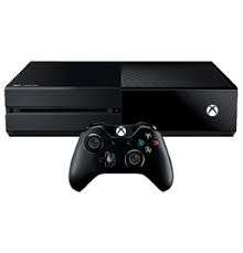 Xbox One with games and controllers