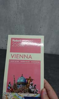BN Fodor's 25 Best VIENNA pocket guide and maps